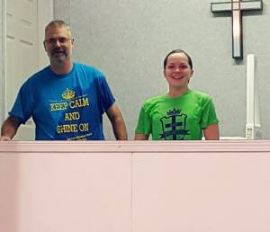 Karley Reynolds Baptism